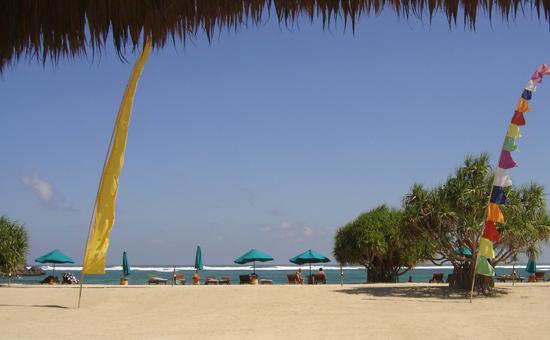 Playa del hotel Novotel de Lombok