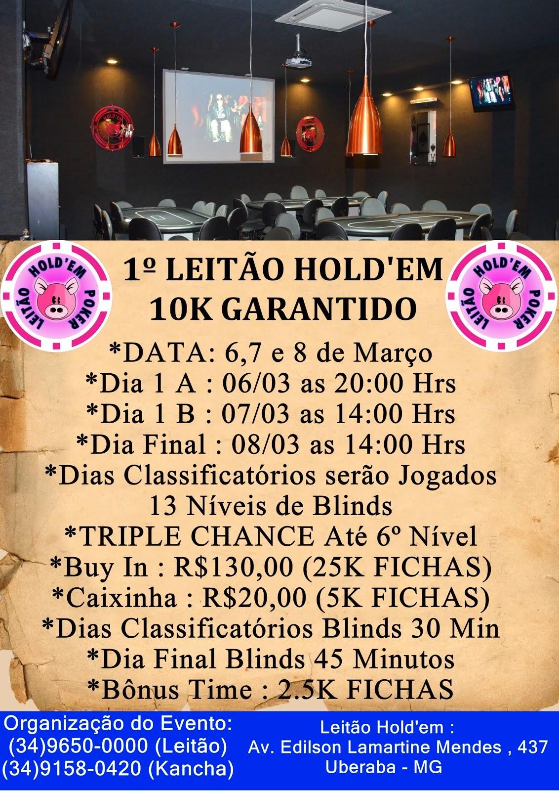 1º 10K LEITÃO HOLD'EM