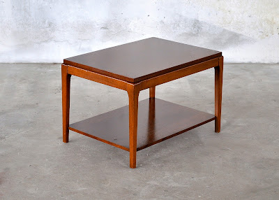 Design Finds Mid Century Modern Side End Table Small Coffee Table