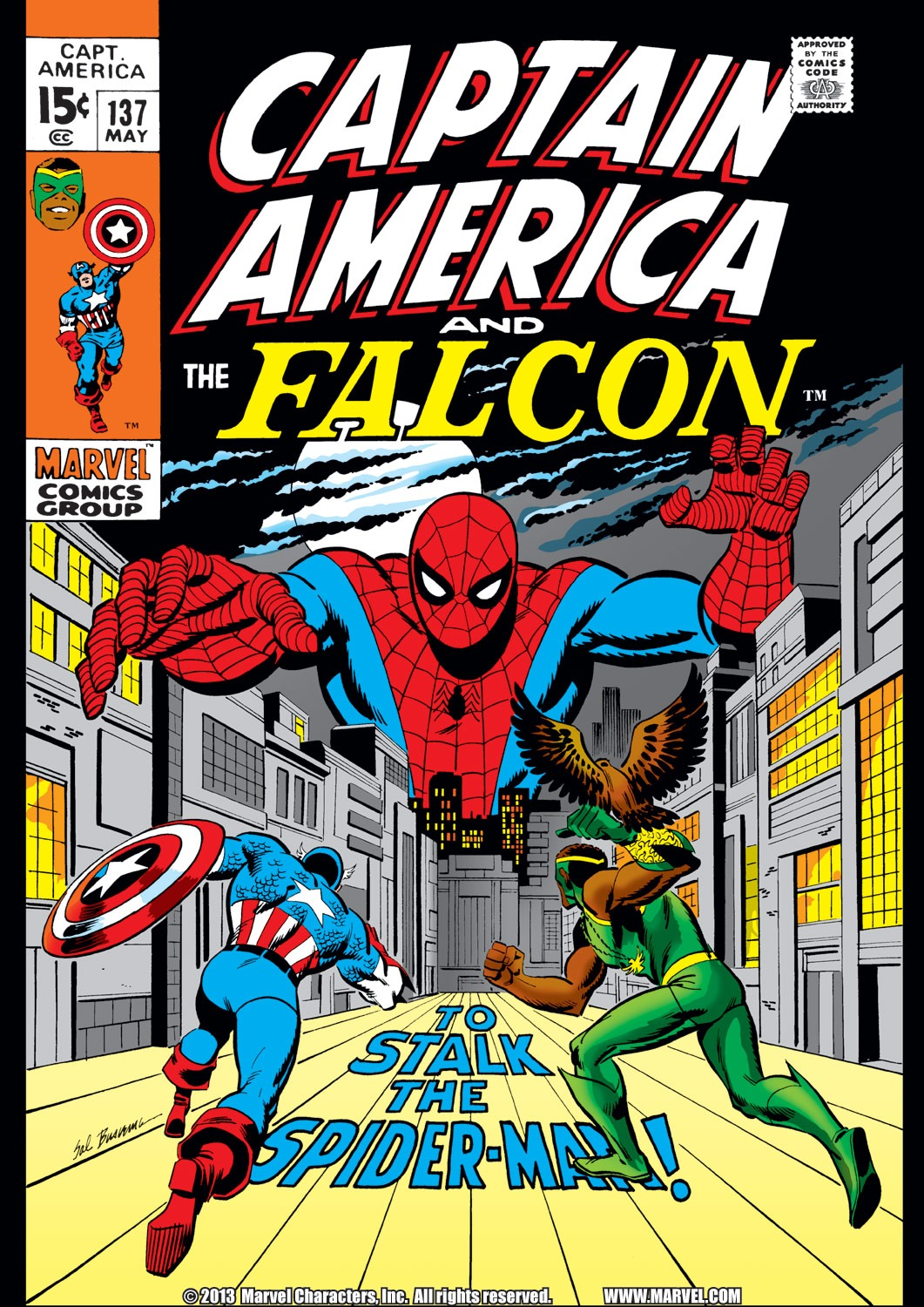 Captain America (1968) Issue #137 #51 - English 1