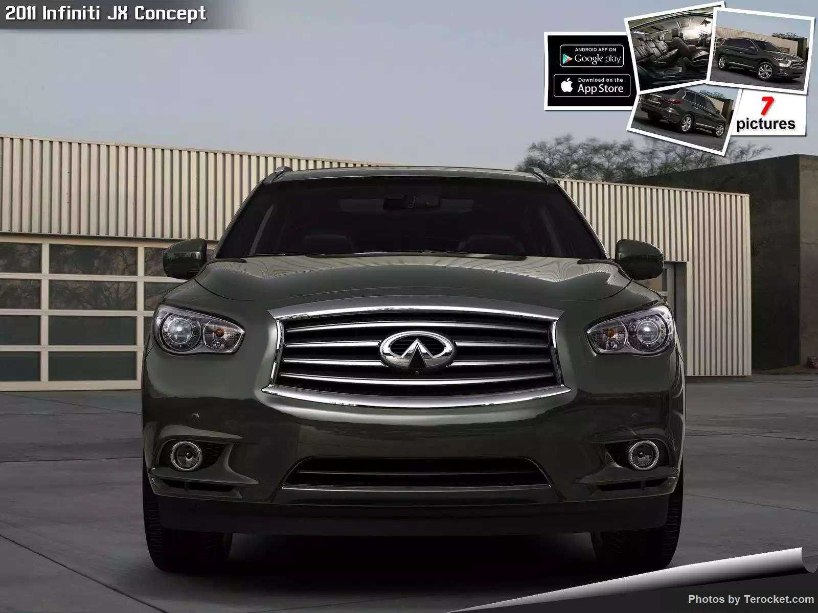 Hình ảnh xe ô tô Infiniti JX Concept 2011 & nội ngoại thất