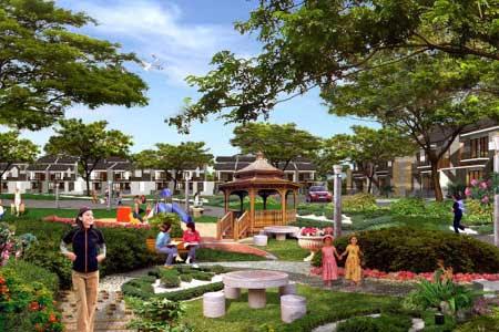Informasi perumahan real estat properti jakbar casa for Casa jardin jalan damai