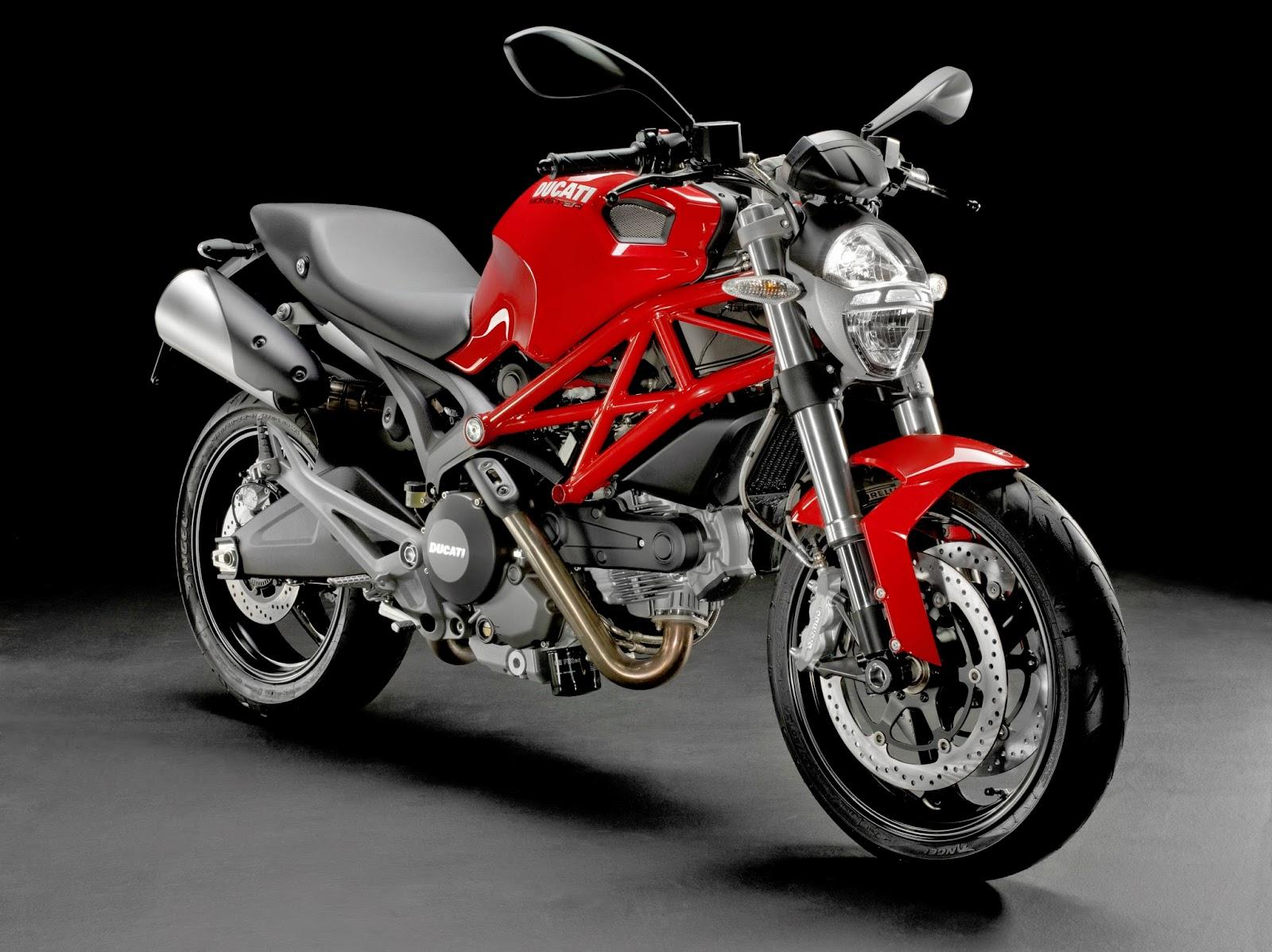 Foto Motor Ducati Merah Terbaru