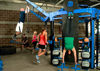 Functional fitness equipment workout