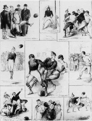 Scotland v England, 1872, the first international (Wikicommons)