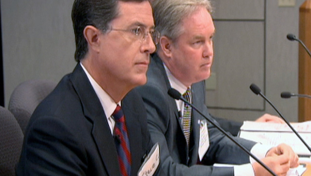 Stephen Colbert takes case for Super PAC to FEC - CBS News
