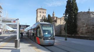 Se investigan las obras del tranvía de Zaragoza