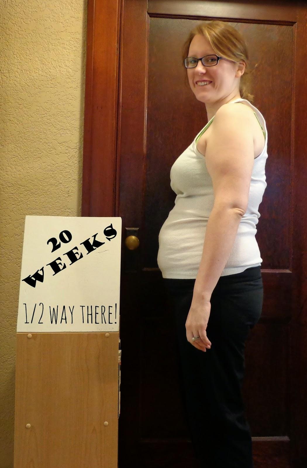 Week 20 Baby Bump