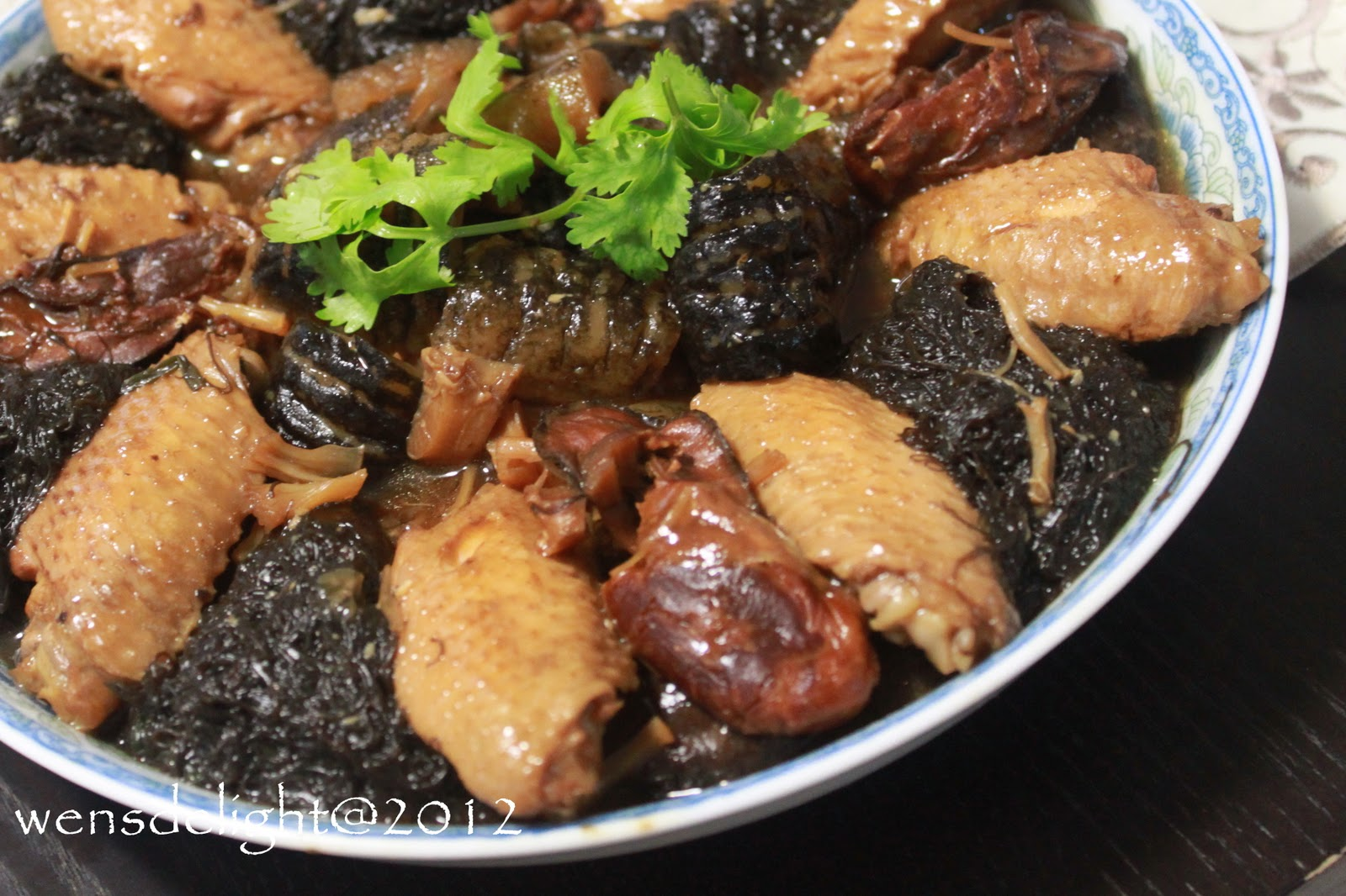 how to cook sea cucumber chinese