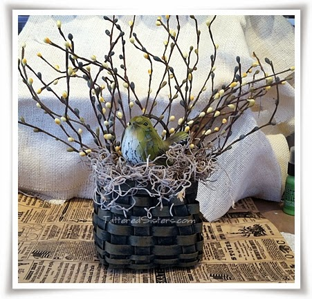Bird and Pip Berries Basket