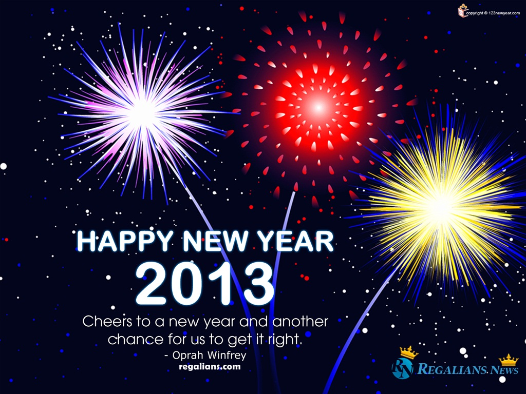 Happy New Years Wallpaper 2013