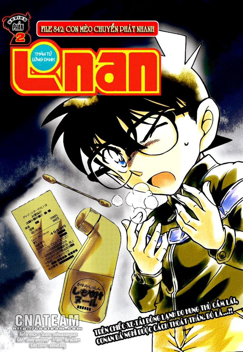 Detective Conan - Thám Tử Lừng Danh Conan chap 842 page 1 - IZTruyenTranh.com