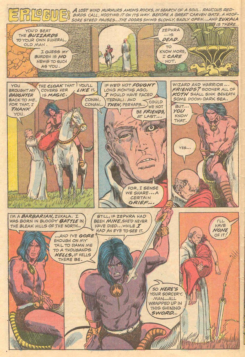 Conan the Barbarian (1970) Issue #15 #27 - English 21