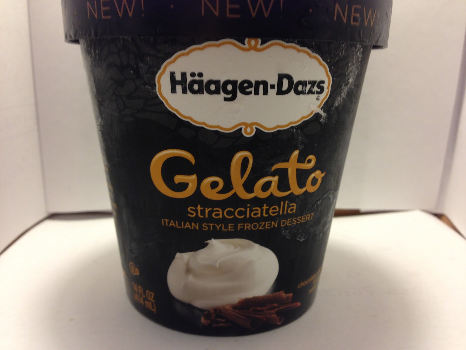 Crazy food dude review haagen dazs stracciatella gelato for Gelati haagen dazs