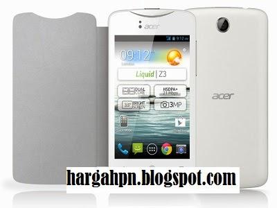 Harga Hp Acer Liquid Z3 Terbaru Dan Spesifikasi
