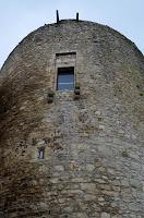 Byzantinischer Turm in Castelluccio Valmaggiore (Apulien)