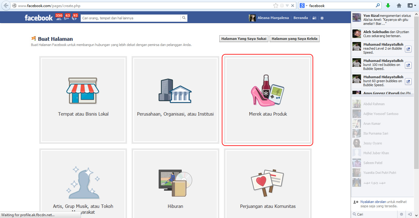 Cara Mudah Membuat Fans Page Facebook