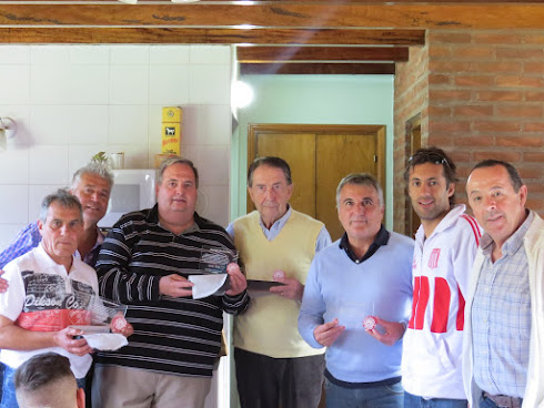 Raúl Correbo, Claudio Gugnali y Abel Herrera nos acompañaron
