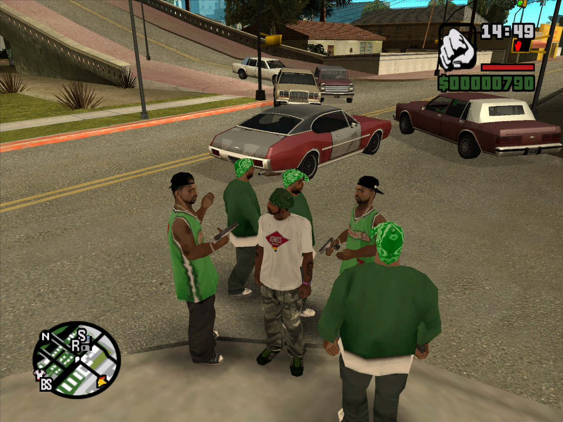This game is one of terkenal game in this word Download Game for PC GTA San Andreas Full Version