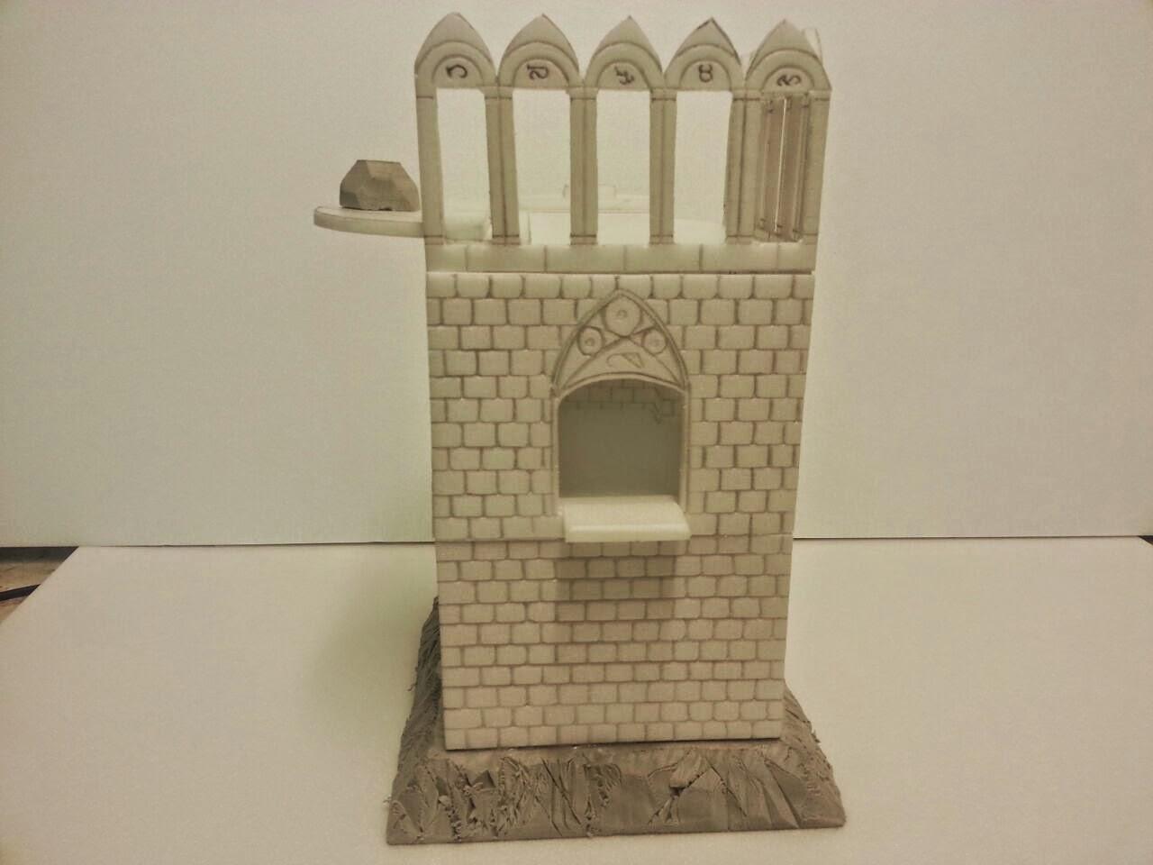 Avances con la torre de Hechiceria