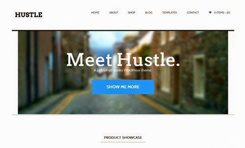 Hustle Woothemes Wordpress Theme Version 1.0 free