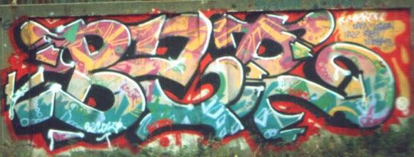 Graffitis barna vieja escuela