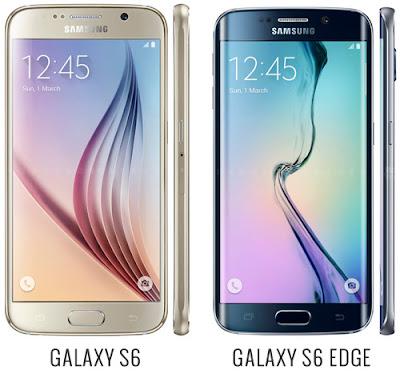 Perbedaan Antara Samsung Galaxy S6 dan Galaxy S6 Edge