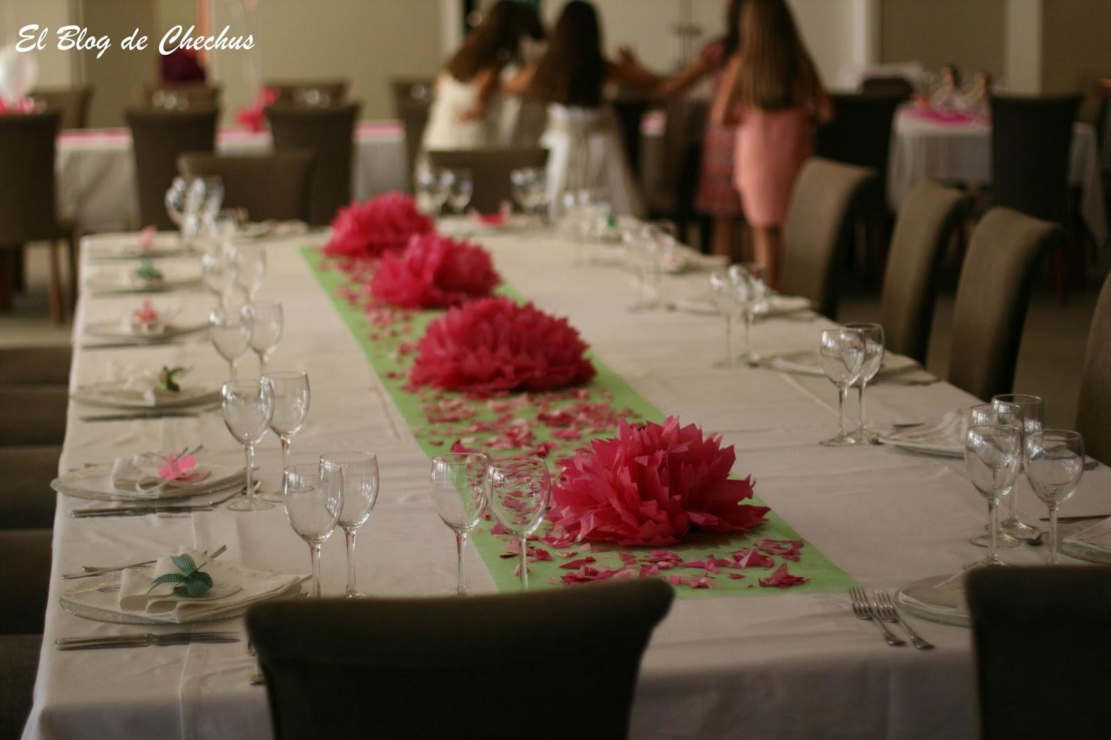 Chechus cupcakes valencia - Decoracion de mesa para comunion ...