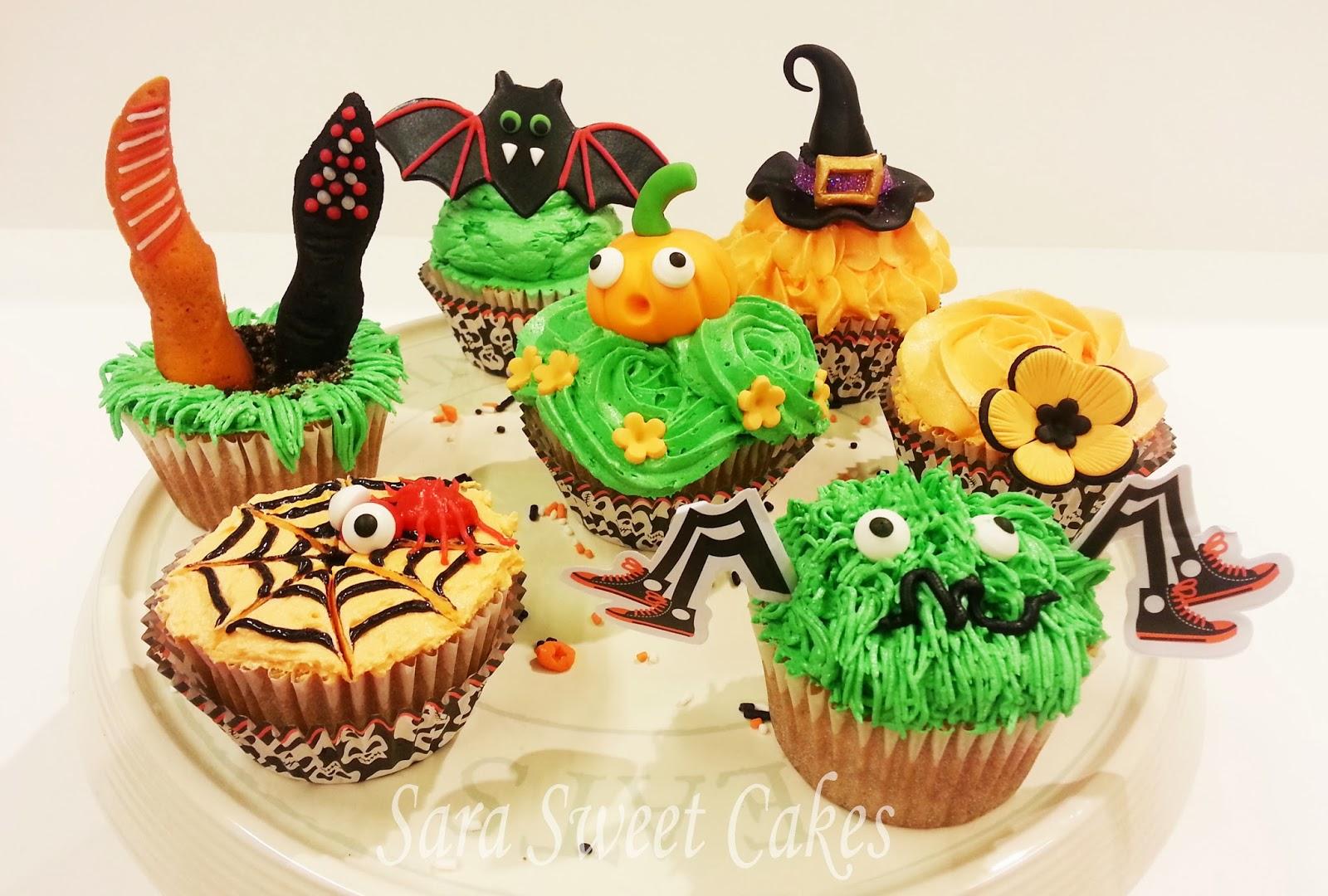 Sara Sweet Cakes: IDEAS CUPCAKES HALLOWEEN