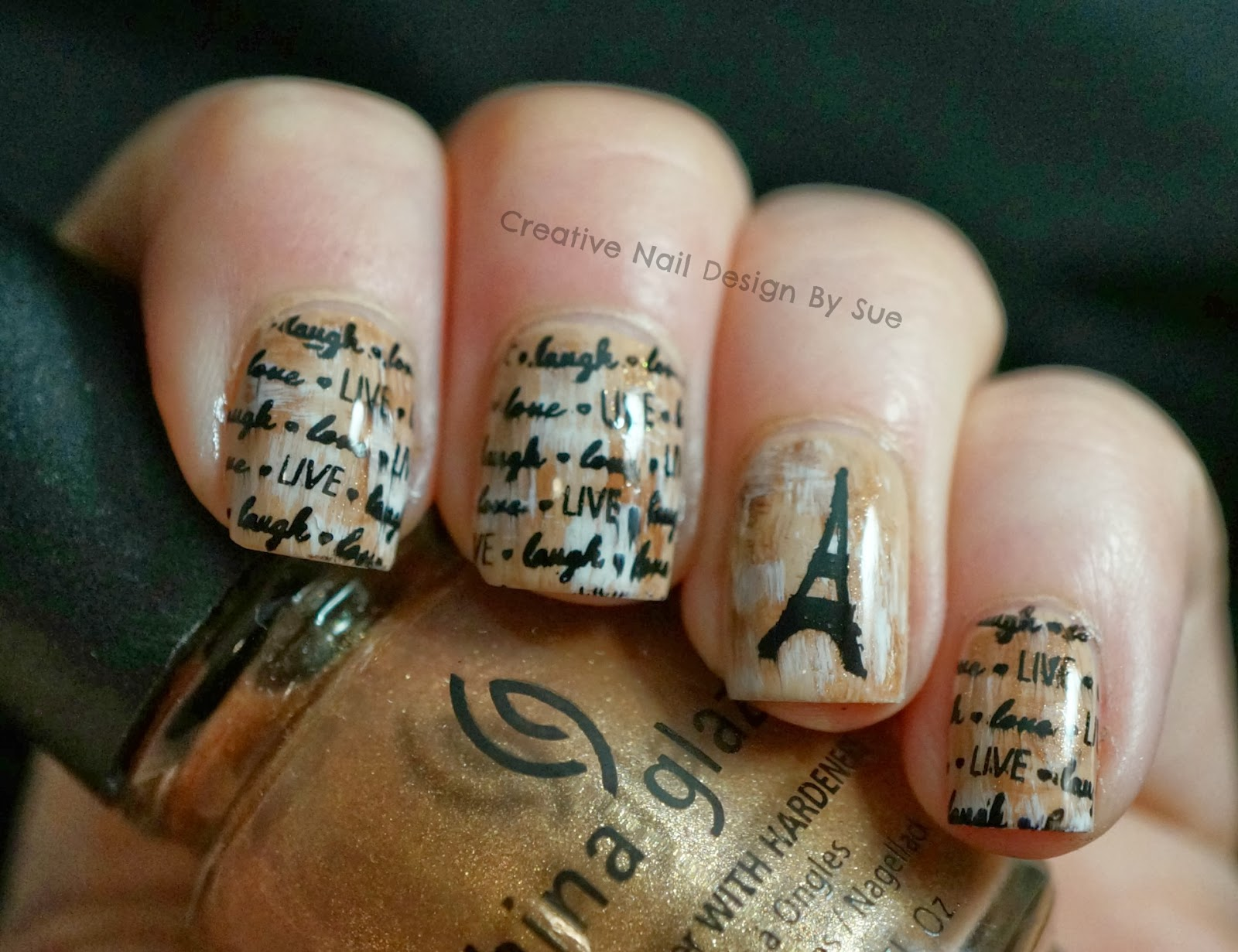 Creative Nail Design By Sue Digital Dozen Does Vintage Paris