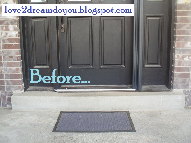 love2dream do you 4 front door mat. Black Bedroom Furniture Sets. Home Design Ideas