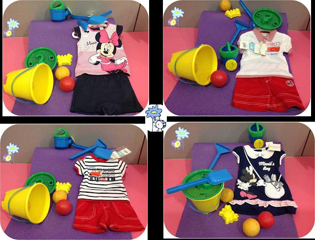 Ropa de niño y niña inspirada en Disney (Mickey, Minnie, Cars,...)