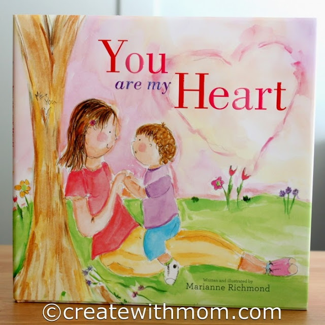 you are my heart children's book