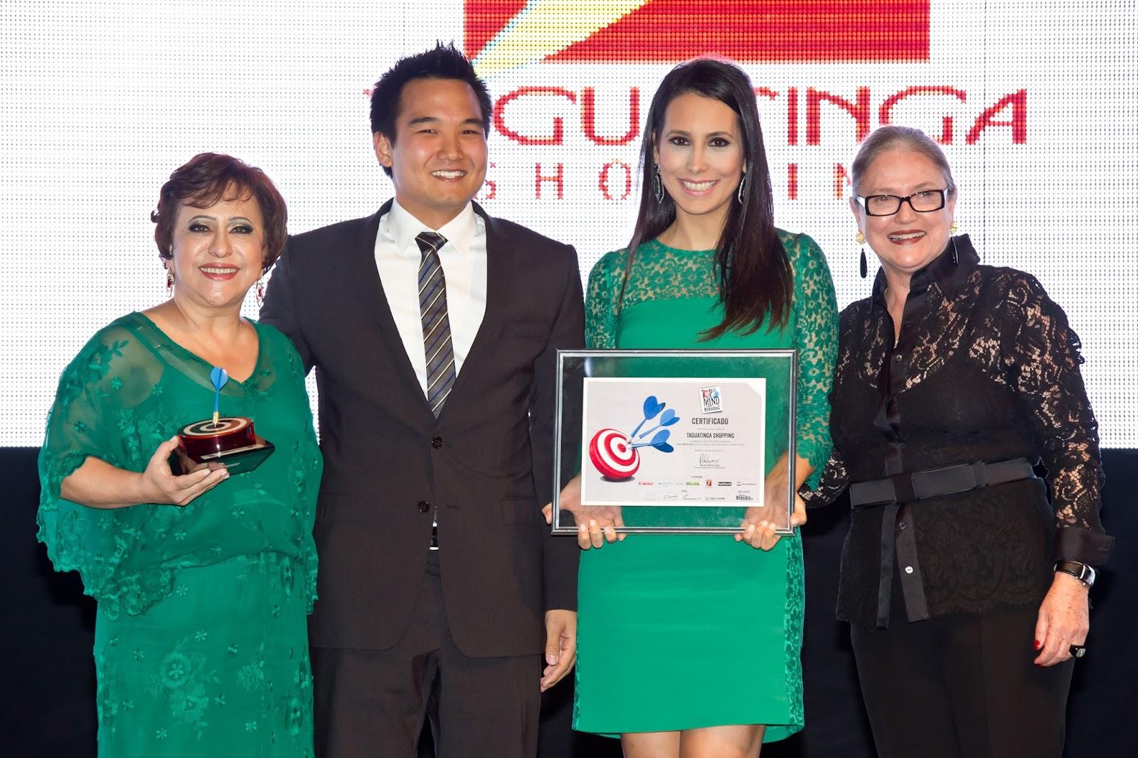 210a87b382ca2 Taguatinga Shopping recebe sétimo prêmio Top of Mind