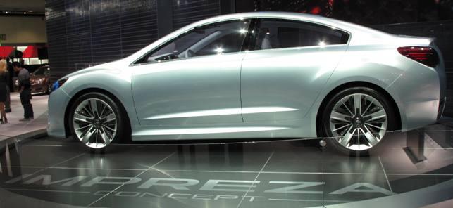 2012 Subaru Impreza Concept. 2012 Subaru Impreza Concept