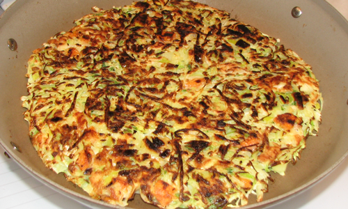 Nancy's Notebook - Recipes: Japanese Pizza Recipe -- Okonomiyaki