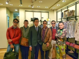 Styling Folio -H.E. by Mango- Rockwell opening fashion show