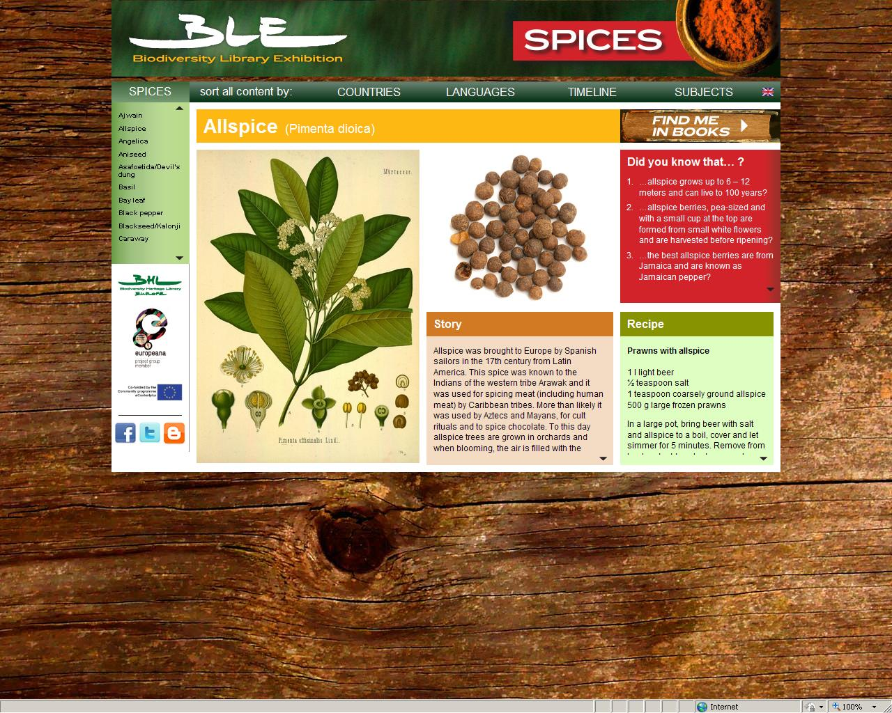 BLE Spices