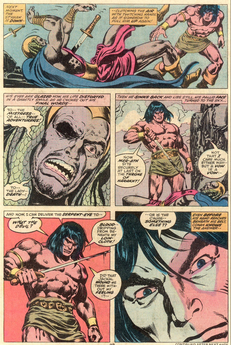 Conan the Barbarian (1970) Issue #81 #93 - English 14