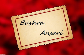 Bushra Ansari Real Email Id and Profile of Facebook