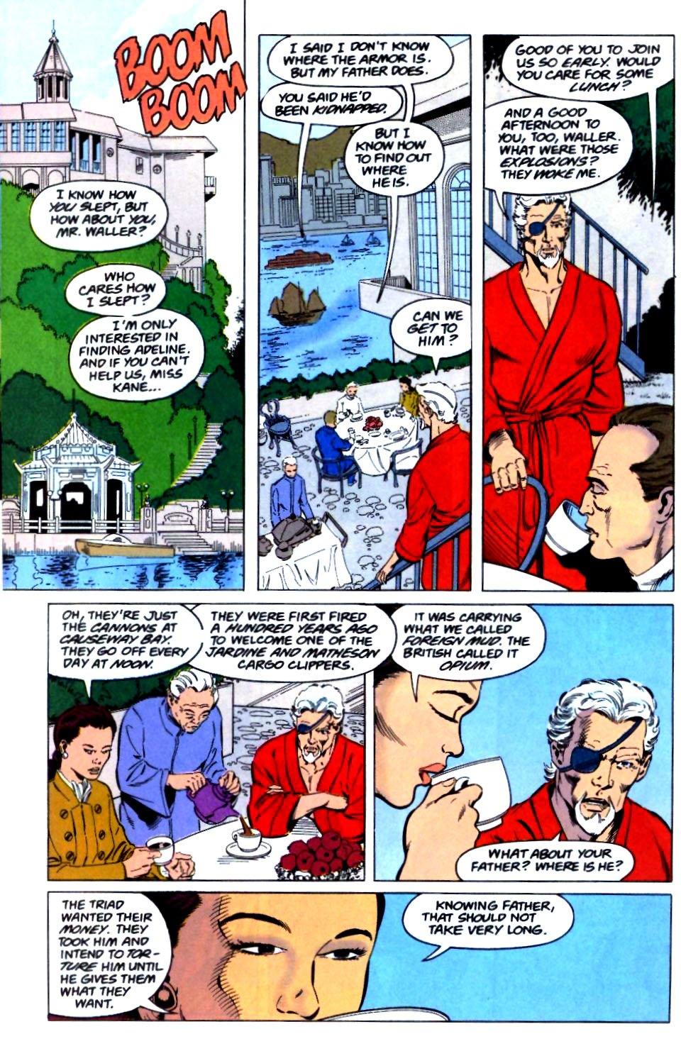 Deathstroke (1991) Issue #29 #34 - English 21
