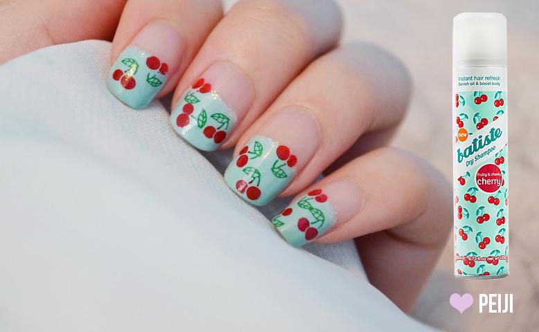 Cherry Nail Design