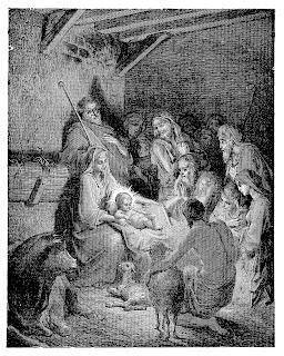 religious nativity scene christmas image