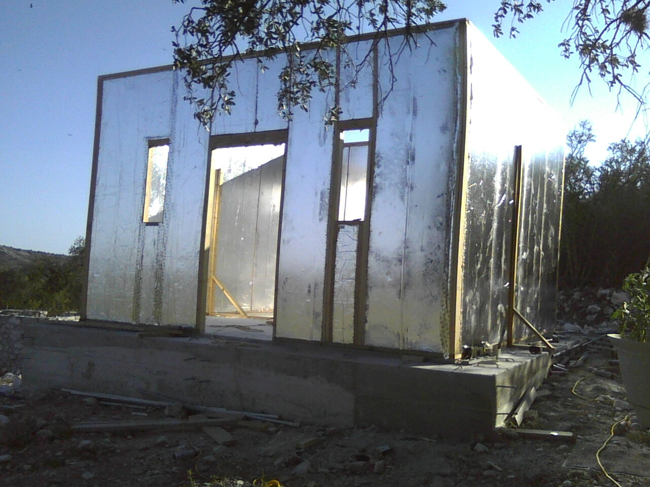 Structural insulated panel diy with ray core a quaint for Sips texas