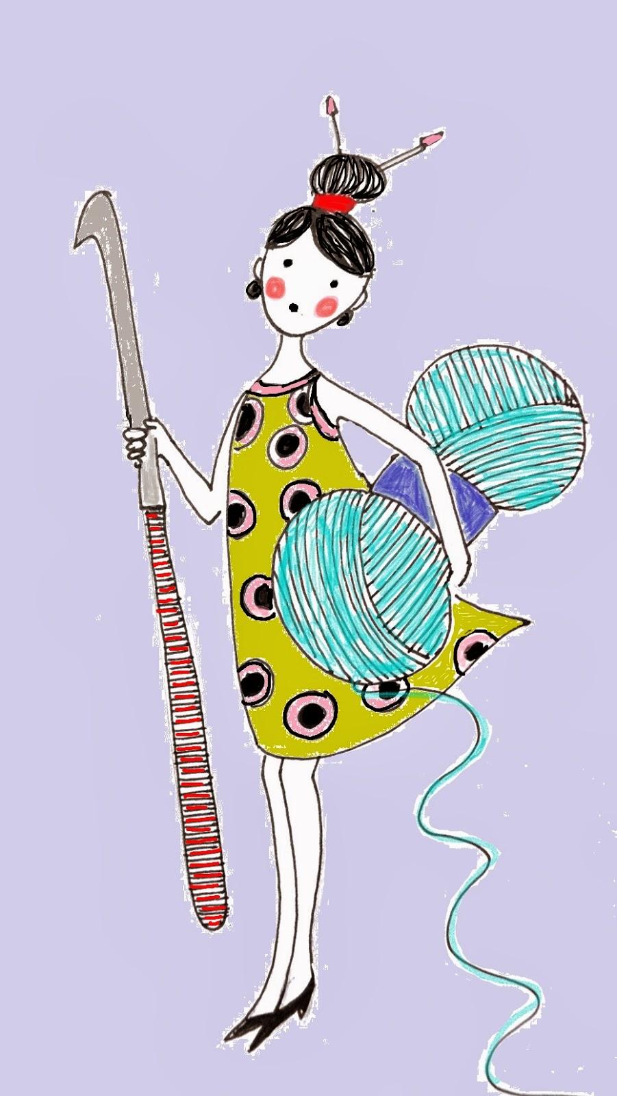 Стихотворение про вязание крючком