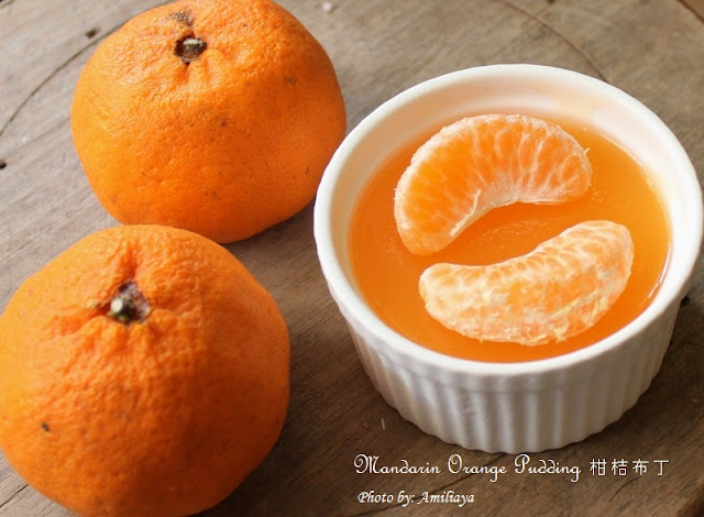 Mandarin Orange Pudding