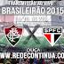 FLUMINENSE x SÃO PAULO - BRASILEIRÃO - 14/10 - 22h