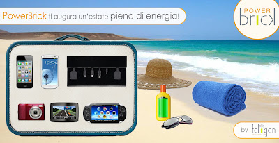 PowerBrick ti augura un'estate piena di energia