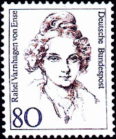 Postzegel met Rahel Varnhagen in de serie 'Frauen deutscher Geschichte' uit 1994