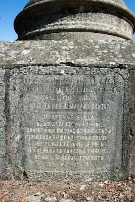 Detalle de una de las inscripciones